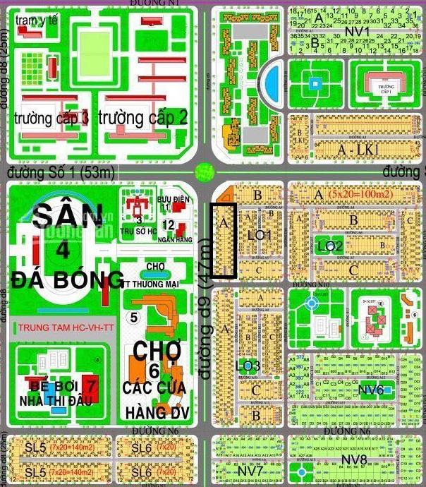 Đất mặt tiền Huỳnh Thúc Kháng