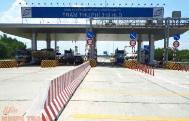 Thông xe đườn 319 - cao tốc Long Thành Dầu Giây